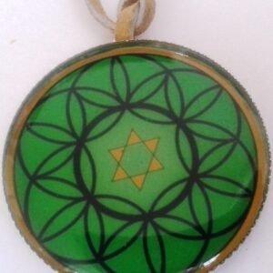 Mandalový amulet hojnost