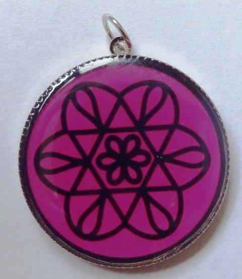 Mandalová amulet láska