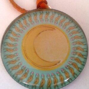 Mandalový amulet luna