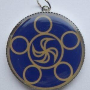 Mandalový amulet odvaha