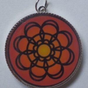 Mandalový amulet vděčnost