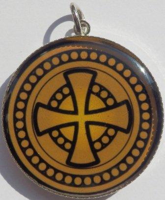 Mandalový amulet víra
