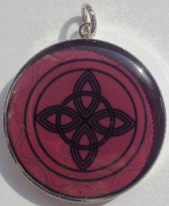 Mandalový amulet vůle