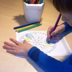 Antistresové omalovánky pro děti